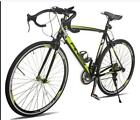 Racing Bicycle 21Speed Shimano Hybrid 700C Lightweight Aluminum Frame Road Bike