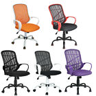 Adjustable Mesh Office Desk Computer Chair Ergonomic Padded Seat W/ Armrest