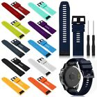 Quick Install Silicone Band Strap Wristband For Garmin Fenix 5/5X/5S Watch
