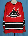 LOS ANGELES LA SHARKS WHA RETRO HOCKEY JERSEY JIM NIEKAMP SEWN NEW ANY SIZE