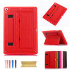 "For Apple iPad 6th Generation 9.7"" Luxury Back Handle Leather Case Stand Cover"