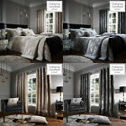 Catherine Lansfield CRUSHED VELVET Duvet Cover/Quilt Cover Set Bedding Range