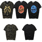 NEW Bape Shark Head Round Neck Teens T-shirt A Bathing Ape Short Sleeve Tee Tops