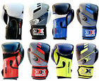 3x Sports Muay Thai Training Synthetic Leather Punching Focus Boxing Gloves kick