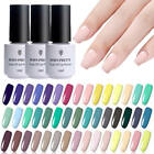 BORN PRETTY Nail UV Gel Polish No Wipe Topcoat Base Coat Gel Soak Off Nail Art