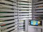 Video Games - SNES Games 100% Authentic All Original Super Nintendo lot FAST FREE SHIPPING