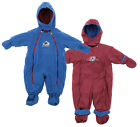 NHL Baby Infant Colorado Avalanche Hooded Reversible Snowsuit, Maroon / Blue on eBay