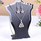 Necklace New Holder Earring Jewelry Bust Pro Deco Stand Rack Mini Diy Display