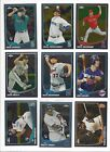 2013 TOPPS CHROME #'s 1-220  ( STARS, ROOKIE RC's ) - WHO DO YOU NEED!!!