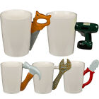 NOVELTY BUILDERS TOOLS HANDLE COFFEE MUG 3D TEA GIFT DRINKING CERAMIC CUP NEW
