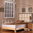 Home Stainless Steel Mosquito Netting Nets Metal Frame/Post For Twin Queen King image