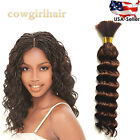 Внешний вид - Top Quality Synthetic Deep Wave Braiding Micro Braids Bulk Hair 18 inch Hair