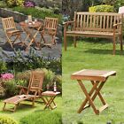 Garden Life Furniture Bistro Set, Bench, Sun Lounger Deck Chair & Foldable Table