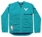 Adidas NBA Youth Charlotte Hornets On Court Jacket, Teal