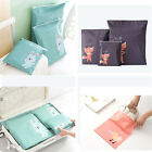 Lot Travel Portable Storage Bags Cartoon Pattern Practical Waterproof StorageHX