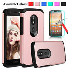 For Motorola Moto E5 Play/E5 Cruise Shockproof Hybrid Case With Screen Protector