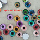 20x 10MM/16MM/20MM Glass Eyes Kit For Sewing Needle Felting Bear DIY Doll Crafts