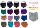 17 color panties briefs bloomers Nylon Women Men Lace Panty Underwear Handmade
