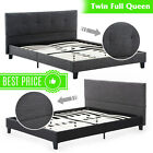 Kyпить Twin Full Queen Size Bed Frame Platform Upholstered Headboard & Slats Bedroom на еВаy.соm