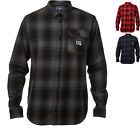 Fox Racing Voyd Flannel Shirt Cotton Casual Leisure Wear Garment Men's Fashion