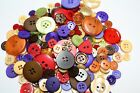 Hand Dyed New Buttons in 12 Beautiful Colorblends Mix Lot of 50-Crafts &Sewing