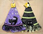 child witch hat - U PICK Halloween WITCH HAT CHILD Costume One Size PURPLE Black CAT Ghost Ages 3+