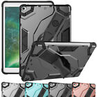 Slim Shockproof Rubber Hybrid Stand Holder Case For iPad 9.7 2017 5th Generation