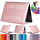 "Keyboard Cover Rubberized Hard Case For MacBook Air 13 11 Pro 13/15"" Retina 12"""