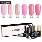 Modelones 8Pcs Set UV LED Gel Nail Polish 36W Nail Dryer Sta
