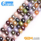"""Mixed Color Freshwater Cultured Pearls Loose Beads For Jewelry Making Strand 15"""""""