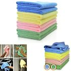 10 - 200 Microfibre Cleaning Cloth Towel Car Valeting Polishing Duster Kitchen