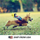 Cowboy Pet Dog Costumes Funny Riding Horse Puppy Outdoor Party Costume Clothes