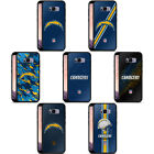 NFL LOS ANGELES CHARGERS LOGO BLACK HYBRID GLASS BACK CASE FOR SAMSUNG PHONES $19.14 USD on eBay