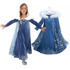 Toddler Kids Girl Frozen Anna Elsa Princess Party Fancy Dress Up Cosplay Costume