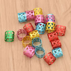 Fashion Dreadlock Beads Cuff Clips Multicolor Hair Braid Jewelry Women Charms