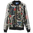 ADIDAS ORIGINALS THE FARM XFL SUPERSTAR TT JACKE TRACK TOP PAPAGEI TUCAN FLOWER