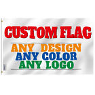 Anley Single Sided Custom Flag - Print Your Own Design Customized Flag Polyester