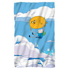 Adventure Time Cartoon TV Show Jake & Finn BALLOON Lightweight Fleece Blanket