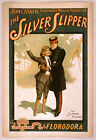 Photo Print Vintage Poster: Stage Theatre Flyer The Silver Slipper 02