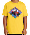 Deuce's Wild Hot Rod Kid's T-shirt Vintage Car and Poker Tee for Youth - 2070C