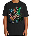 Texas Blues Fest Kid's T-shirt Rock-n-Roll Music Festival Tee for Youth - 2055C