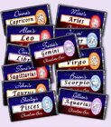 PERSONALISED ZODIAC STAR SIGN ASTROLOGY CHOCOLATE BAR IDEAL BIRTHDAY PRESENT