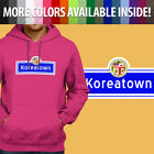 Los Angeles City Koreatown KTown LA Korea Pullover Sweatshirt Hoodie Sweater