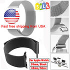 For Apple Watch Milanese Magnetic Loop Stainless Steel Watch Band...