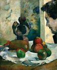 Still Life With Profile Laval Gauguin Paul 1886 Art Photo/Poster Repro Print