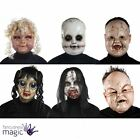 Adult Scary Doll Face Ghost Horror Mask Halloween Fancy Dress Costume Accessory