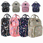 Внешний вид - Mummy Diaper Bag Maternity Baby Nappy Backpack Waterproof Free Get Stroller Hook