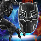 Jungen Kind Black Panther kostüme Marvel Superheld Cosplay Karnevalskostüm
