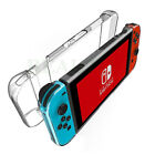 For Nintendo Switch Hard Case+Tempered Glass Screen Protector+Thumb Grips Caps
