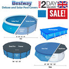 Bestway Debris/Weather All Size Pool Covers Solar Swimming Pool Protecting Sheet